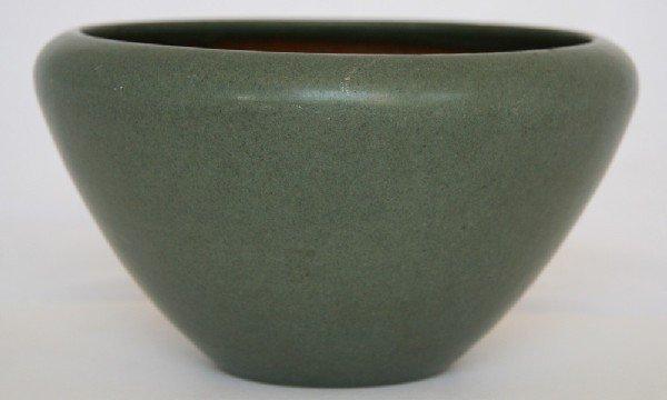 4: Marblehead Pottery Green Vase