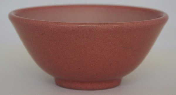 6: Marblehead Pottery Pink Vase