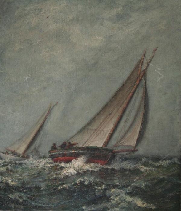 10A: J.G. Tyler Seascape Oil