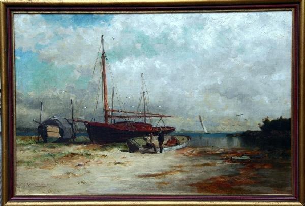 11: G.H. McCord Seascape Oil