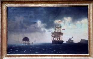 John Erik Peterson Boston Harbor Seascape