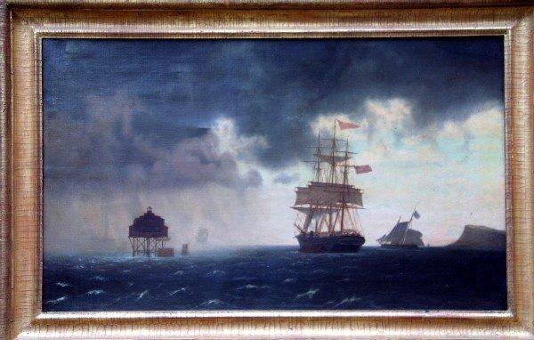 12: John Erik Peterson Boston Harbor Seascape