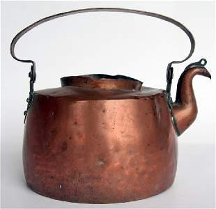 Early & Original Paul Revere Copper Teakettle