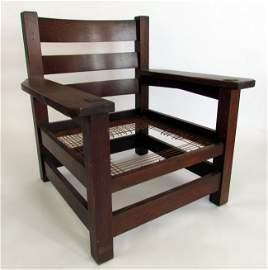1: Rare Gustav Stickley Eastwood Chair