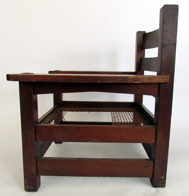 1 Rare Gustav Stickley Eastwood Chair Lot 1