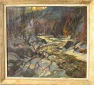 2: William Lester Stevens Oil on Canvas