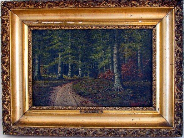 3: William McKendree Snyder (1848-1930) Oil on Canvas