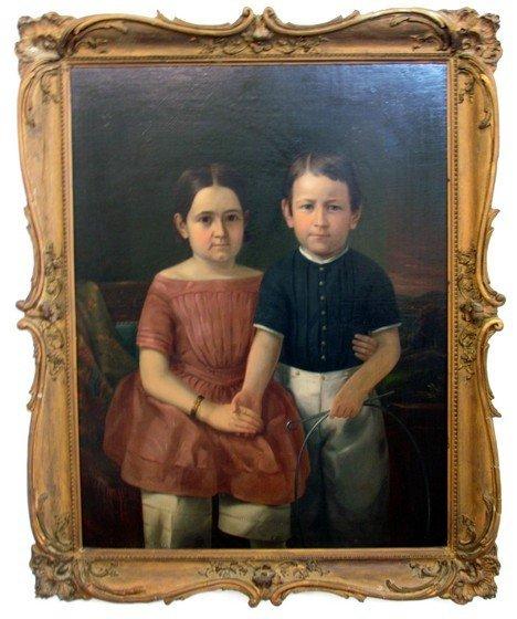 5: 1840 Hudson River School Portrait Civil War History