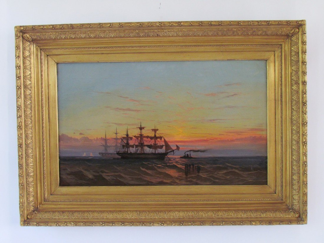 5: 19th Century Marine Painting