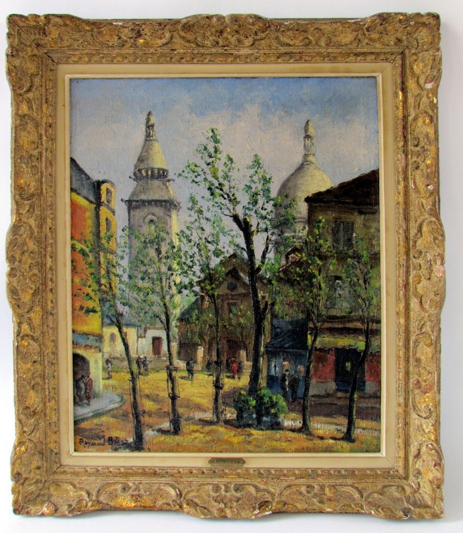 17: Raymond Besse (1899-1969) Oil on Canvas