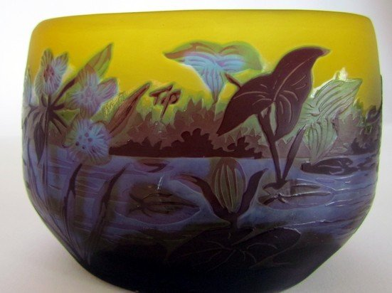9: Galle Vase with Dragonfly