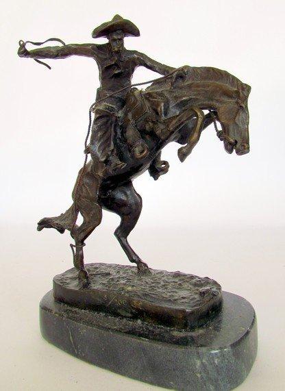 13: Frederick Remington Bronze