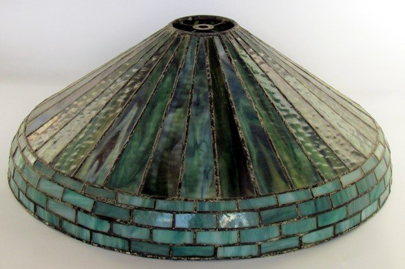 14: Louis C. Tiffany Furnaces Shade