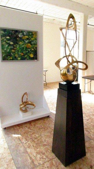 16: Grediaga Antonio Kieff Abstract Bronze