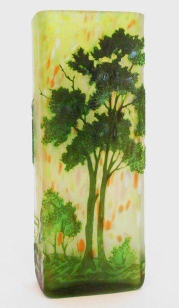 21: Daum Nancy Art Glass Vase