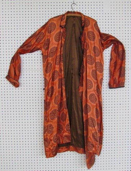 45: Antique Men's Silk Robe