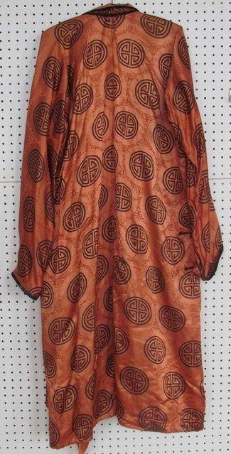 45: Antique Men's Silk Robe - 2