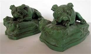 English Bulldog Bookends