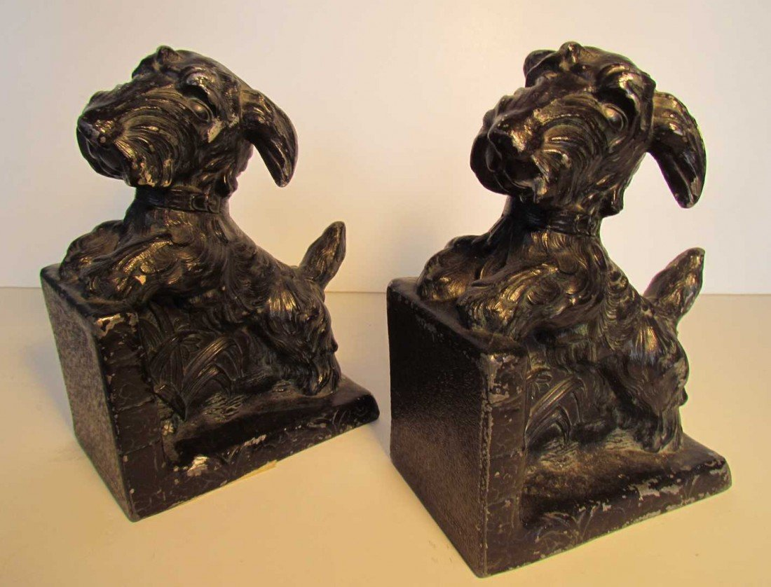 20: Scottie Dog Bookends