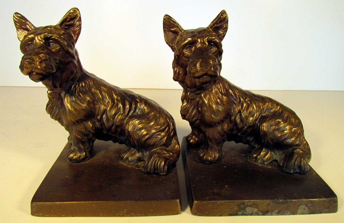 21: Scottie Dog Bookends