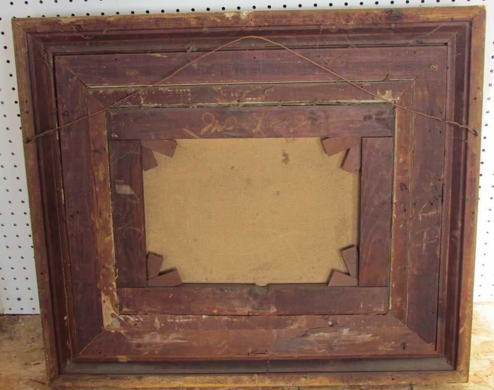 9: 19th Century Marine Painting Oil on Canvas - 3