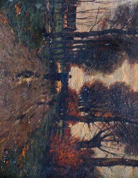 14: Charles Gruppe (1860-1940) Oil on Canvas