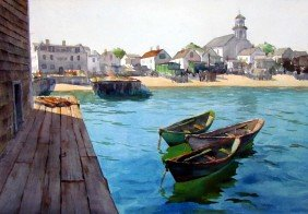 Reichard Waterfront Watercolor