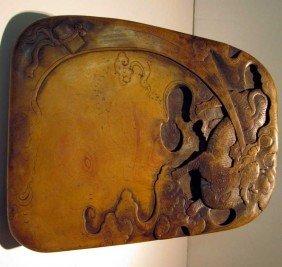 24: Carved Soapstone Ink Block