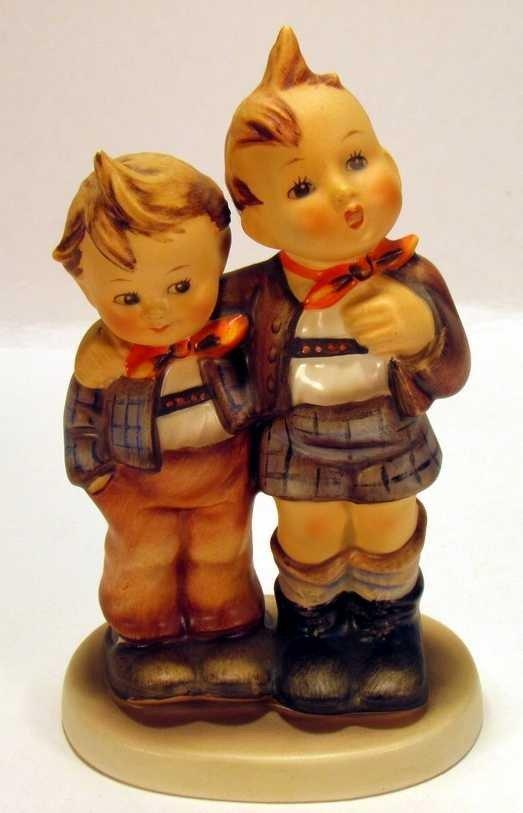 251: Hummel Figurine Two Boys 123