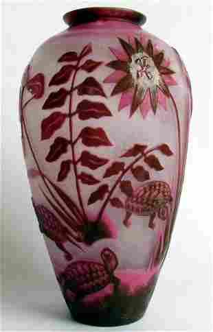 Imperial Glass Factory St. Petersburg 1900 Vase