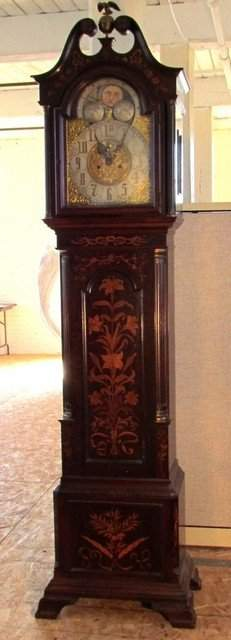 Exceptional Black Starr & Frost Grandfather Clock