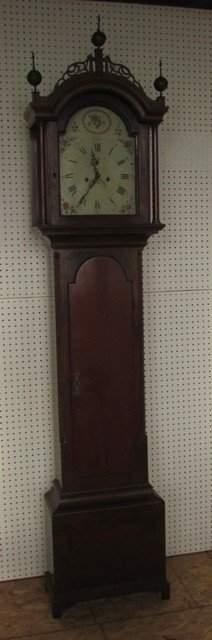 Early Massachusetts Tall Case Clock