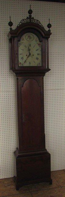 8: Early Massachusetts Tall Case Clock