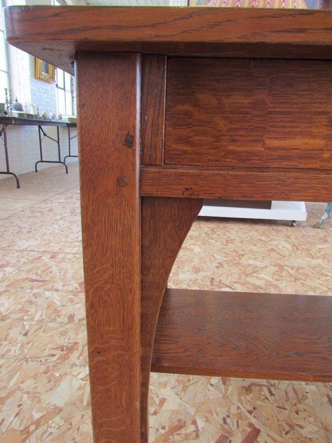 9A: L. & J.G. Stickley Library Table - 2