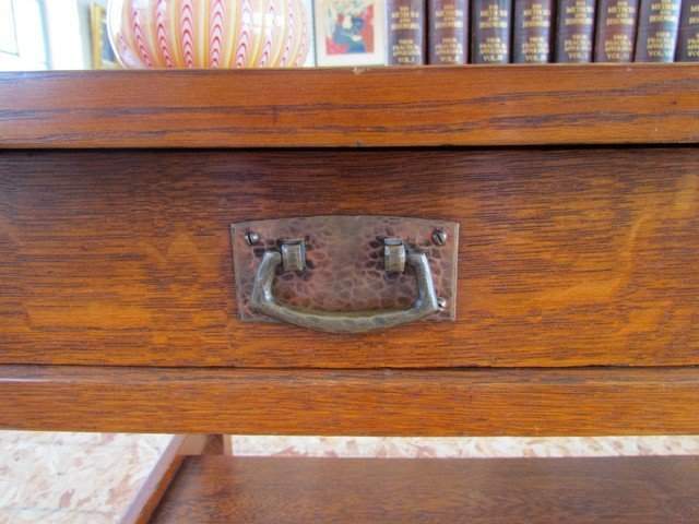 9A: L. & J.G. Stickley Library Table - 3