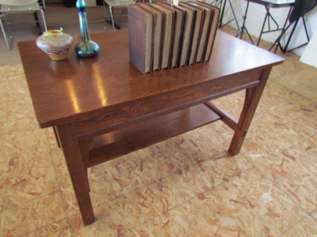 9A: L. & J.G. Stickley Library Table - 4