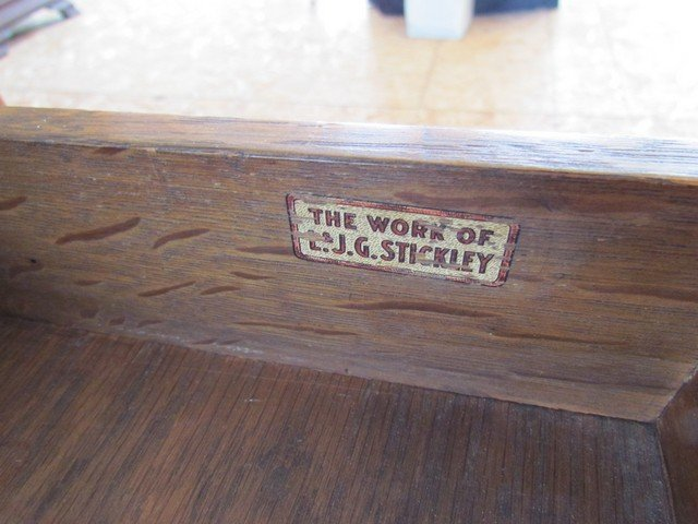 9A: L. & J.G. Stickley Library Table - 5