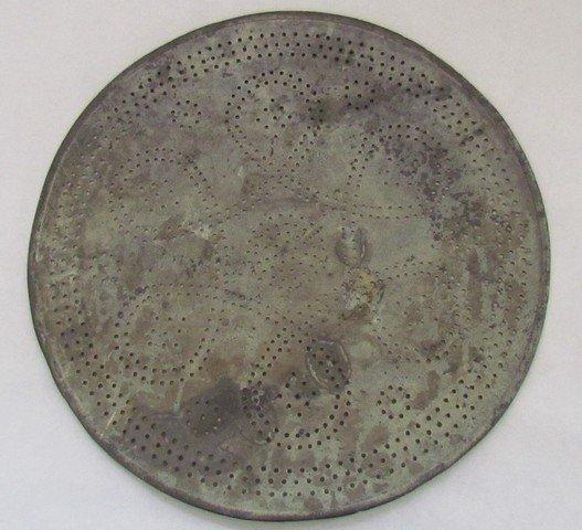 15: Early 18th Century Pierced Plate A. Hamilton