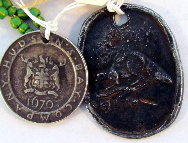 19: Two Hudson Bay Trading Medals