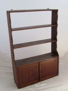Early 19th Century Mahogany Shelf