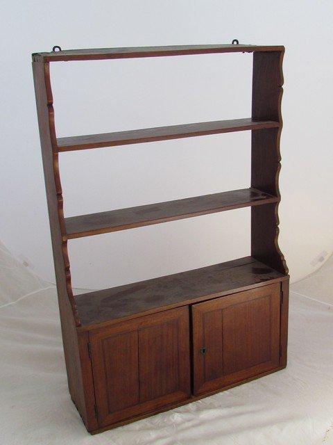 21: Early 19th Century Mahogany Shelf