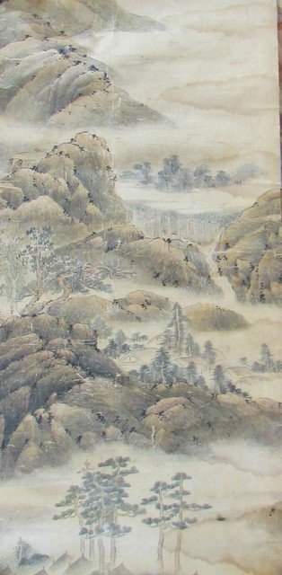 32: Group Chinese Silk Paintings