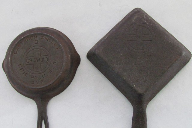 39: Two Griswold Minature Cast Iron Pans - 2
