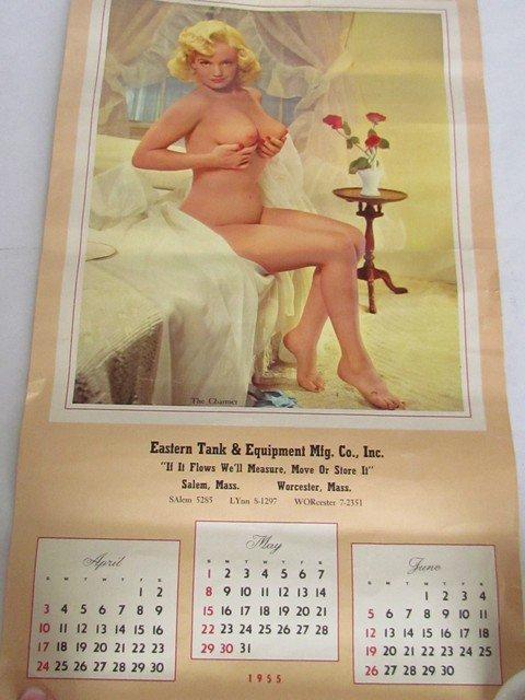 205: Group Vintage Pin Up Calendars