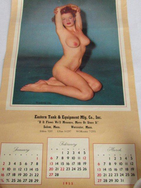 205: Group Vintage Pin Up Calendars - 2