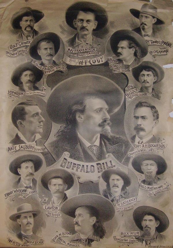 5: Rare Buffalo Bill Lithograph Poster