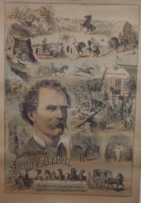 15: Bartholomew's Equine Paradox Lithograph Poster
