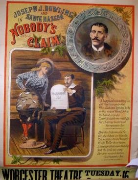 17: Nobody's Claim Lithograph Poster