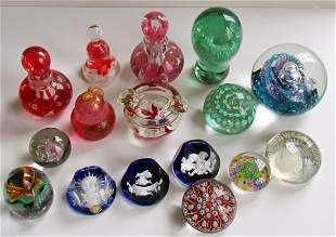 5: Group Sixteen Paperweights