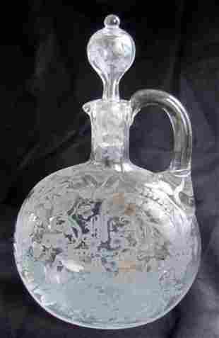 11: Victorian Cut Glass Decanter